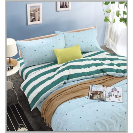 KING KOIL Fusion Indie Home Fitted Sheet Set FU05452