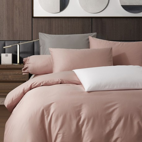 King Koil Colour Palette Fitted Sheet Set SC01003 (Cameo Rose)
