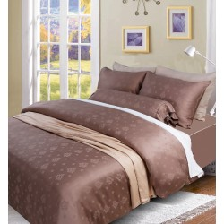 DORMA LORETTA TENCEL JAC FITTED SHEET -  90003 (BRONZE)
