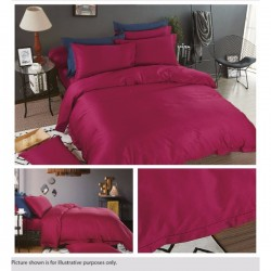 KING KOIL ETERNAL COSIEST FITTED SHEET SET - ET02804 (DK RED)