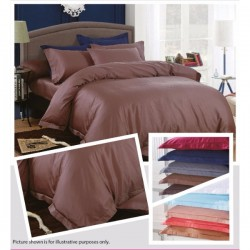 KING KOIL ETERNAL COSIEST FITTED SHEET SET  - ET02807 (DK COCO)