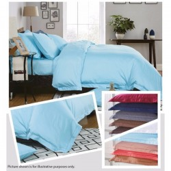 KING KOIL ETERNAL COSIEST FITTED SHEET SET - ET02808 (SKY BLUE)