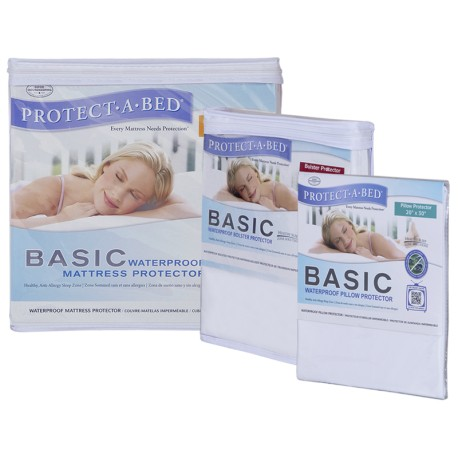 Protect-A-Bed - Basic Fluidproof Matt Pad, Pillow Pad & Bolster Pad