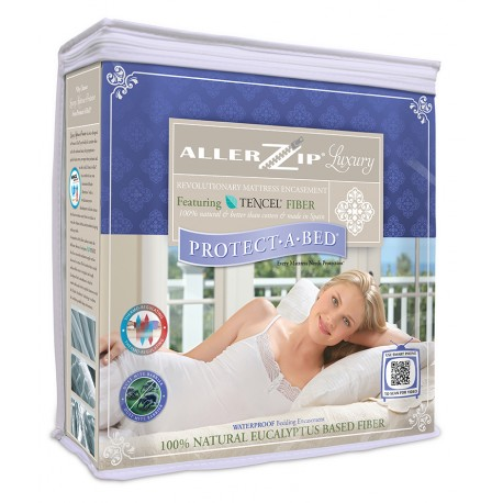 Protect-A-Bed - Luxury Allerzip Fluidproof Mattress Protector